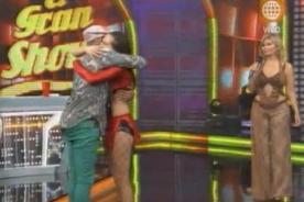 Emilia Drago y Carlos Cacho se amistaron en 'Reyes del Show' - Video