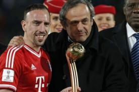 Mundial de Clubes 2013: Franck Ribery ganó el Balón de Oro