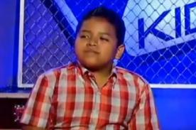 La voz kids: Participante sorprende con tema de Luis Miguel - Video