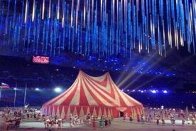 Sochi 2014: Aparece un circo en plena clausura de los juegos olímpicos -FOTOS