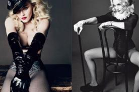 Madonna sufrió descuido durante sesión de fotos