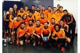 Final Champions League: Cristiano Ronaldo postea foto con sus compañeros en Lisboa
