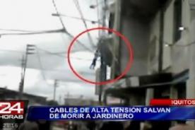 Milagro en Iquitos: Hombre se salva de morir [VIDEO]