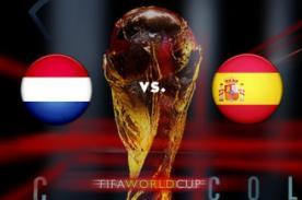 Minuto a minuto Holanda Vs. España (0-0) – Mundial Brasil 2014– ATV EnVivo