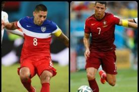 Partidos Mundial Brasil 2014: Alineaciones Estados Unidos vs Portugal – 22 de Junio