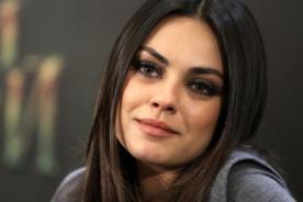 Mila Kunis planea casarse en secreto con Ashton Kutcher