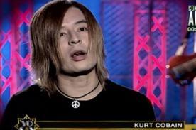 Yo Soy: ¿Ramiro Saavedra perdió la imitación de Kurt Cobain?