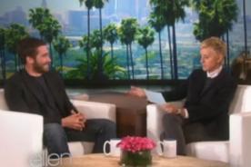 VIDEO: Jake Gyllenhaal se lleva terrible susto y su reacción no tiene precio