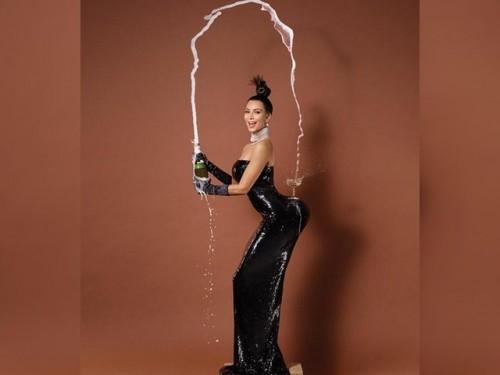 Kim Kardashian habla sobre su foto desnuda en portada de revista 'Paper'