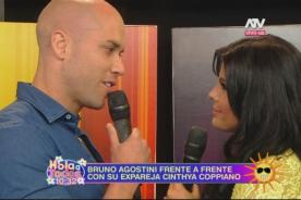 Combate: Cinthya Coppiano encara a Bruno Agostini por escándalo sexual