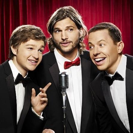 Ashton Kutcher batió record de sintonía en Two and a Half Men