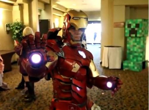 Video: ¿El mejor cosplay de Iron Man del mundo?