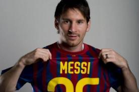 Video: Barcelona dedica este homenaje a Lionel Messi por sus 25 años