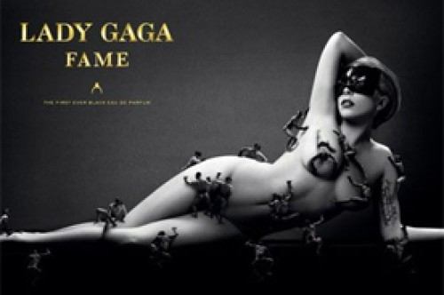Lady Gaga queda desnuda en campaña de su perfume 'Fame'