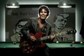 Pedro Suárez Vértiz participó en videoclip de Anna Carina Copello