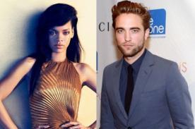 Rihanna envía mensaje de ánimo a Robert Pattinson