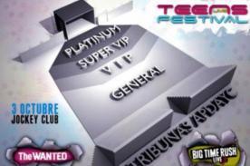 Teens Live Festival: Zonas y precios de entradas