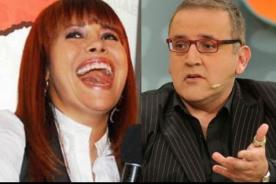 Beto Ortiz y Magaly Medina intercambian 'cariñosos' mensajitos en Twitter