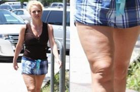 Britney Spears: Paparazzis captan evidente celulitis en sus piernas