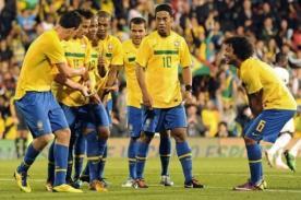 Confirman seis jugadores de Brasil fijos para el Mundial del 2014