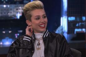 Miley Cyrus se lleva bien con Snoop Lion gracias a la marihuana - Video