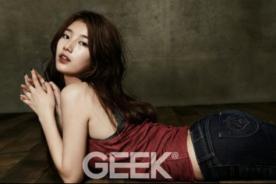 Miss A: Suzy posa sexy para la revista Geek - Fotos