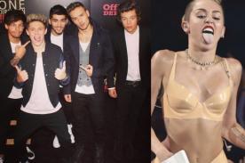 One Direction: Integrantes hablan del espectáculo de Miley Cyrus