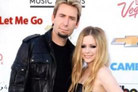 Avril Lavigne graba canción su esposo Chad Kroeger - Audio