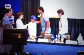 Niño que padece leucemia cumplió su deseo de conocer a Rafael Nadal