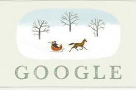 Google nos desea 'Felices Fiestas' a través de 'doodle' por Navidad