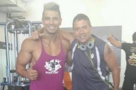 Mathías Brivio se pone en forma junto a Rafael Cardozo - Foto