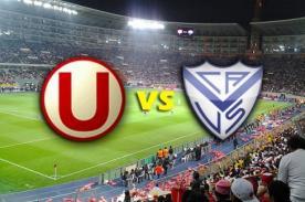En vivo: Universitario vs Vélez Sarsfield por Fox Sports - Copa Libertadores