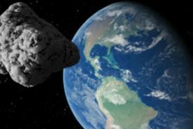 Insólito: Asteroide rozara la tierra el 18 de febrero