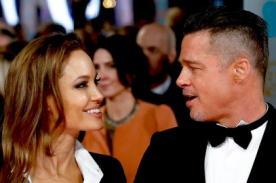 Angelina Jolie y Brad Pitt, elegantes en la gala de los BAFTA en Londres