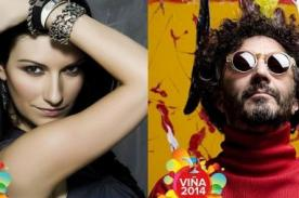 Laura Pausini y Fito Páez se presentarán en Viña del Mar 2014