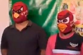 Tipos con máscaras de 'Angry Birds' intentaron asaltar tienda en La Victoria
