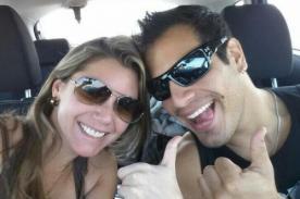 Ernesto Jiménez y Alexandra Horler besándose en Paracas [Foto]