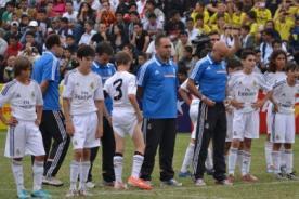 Bracelona y Real Madrid, pequeños pero con corazones gigantes