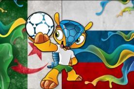 Argelia vs. Rusia ATV En Vivo – Mundial Brasil 2014 (Hora Peruana)