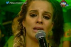 Combate: ¡Alejandra Baigorria rompe en llanto tras recordar a su abuelita - VIDEO