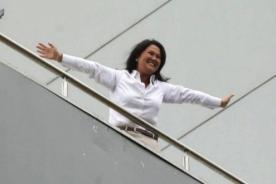 Lo que no viste del balconazo de Keiko Fujimori en el hotel Meliá