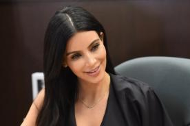 Kim Kardashian habla sobre supuesto relleno en el trasero