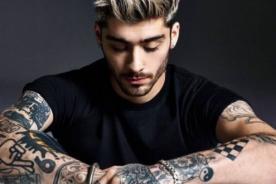 Zayn Malik tapó tatuaje en honor a Perrie Edwards