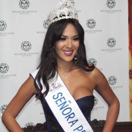 Silvia Cornejo pide apoyo de empresas privadas en concursos de belleza