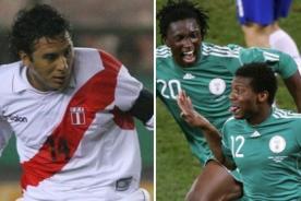 Selección peruana confirmó amistoso ante Nigeria en Lima