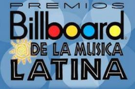 Lista completa de los ganadores de Los Premios Latin Billboard 2012