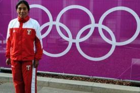 Peruana Wilma Arizapana apunta a los 10 primeros lugares de Londres 2012