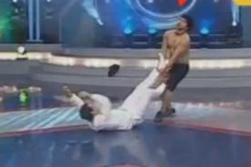 Combate: Zumba y Mario Irivarren protagonizaron divertida escena - Video
