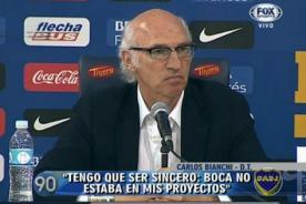 Video: Boca Juniors presenta a Carlos Bianchi - Fútbol Argentino