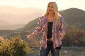 Jessica Simpson protagoniza campaña para bajar de peso - Video